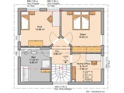Grundriss Architektenhaus Loop Pult Erdgeschoss