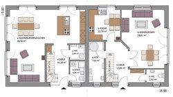 Duo Stadtvilla 160 - Grundriss Erdgeschoss