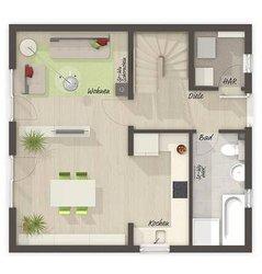 Grundriss Erdgeschoss Aspekt 90