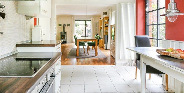 Giebelhaus 170 - Küche und Essbereich