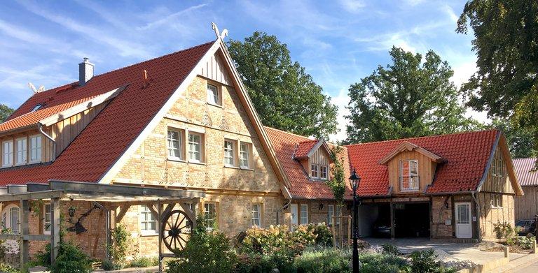Straßenansicht Copyright: Fuhrberger Fachwerkhaus