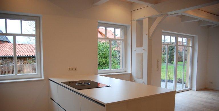 Küchenblock im Fuhrberger Fachwerkhaus Copyright: