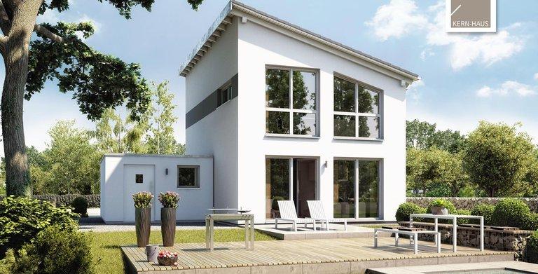 Kern-Haus Singlehaus One Gartenseite