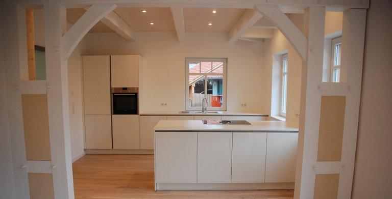 offene Küche im Fuhrberger Fachwerkhaus Copyright: