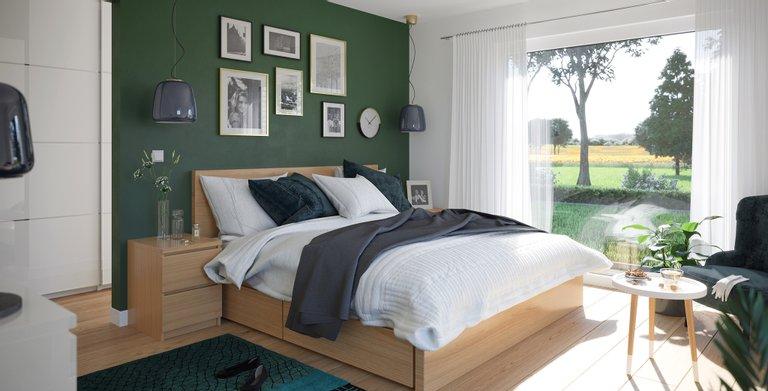 Wohnbeispiel Schlafzimmer Copyright: © Living Haus 2021