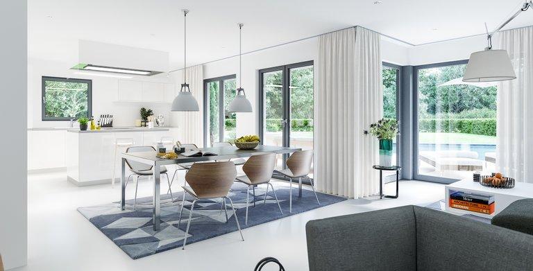 Wohnbeispiel Essküche Copyright: © Living Haus 2019