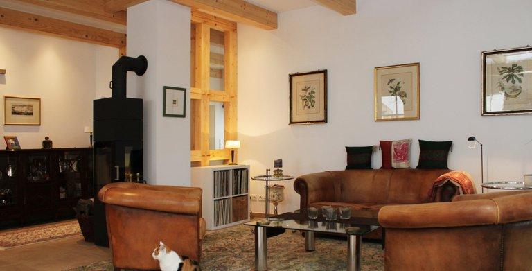 Wohnzimmer Copyright: Fuhrberger Fachwerkhaus