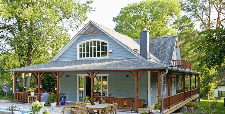 MAX-Haus New England Haus Albany von MAX Holzbau Unternehmensgruppe
