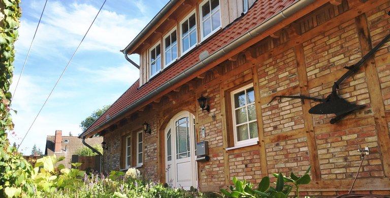 Eingang Copyright: Fuhrberger Fachwerkhaus