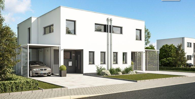 Vorschaubild Doppelhaus Linum