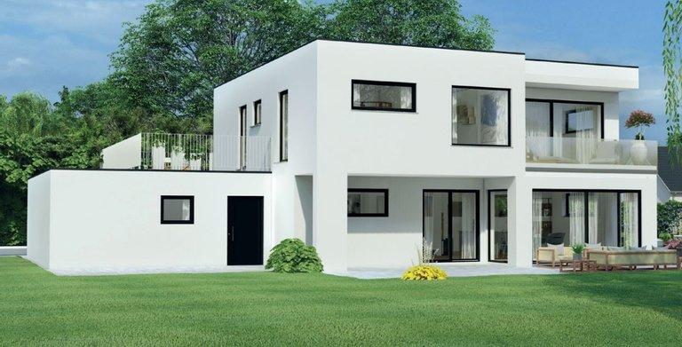 Albert Haus Kubisches Traumhaus 180 von ALBERT Haus GmbH & Co. KG
