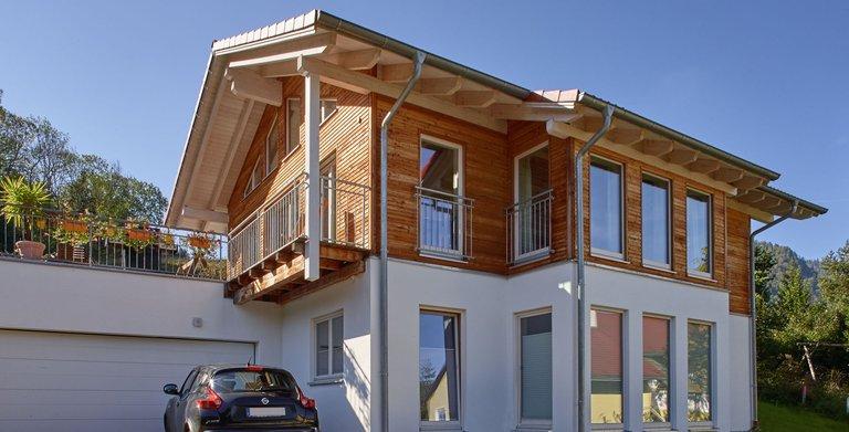 Kundenhaus AM FALKENBERG von Sonnleitner Holzbauwerke GmbH & Co. KG