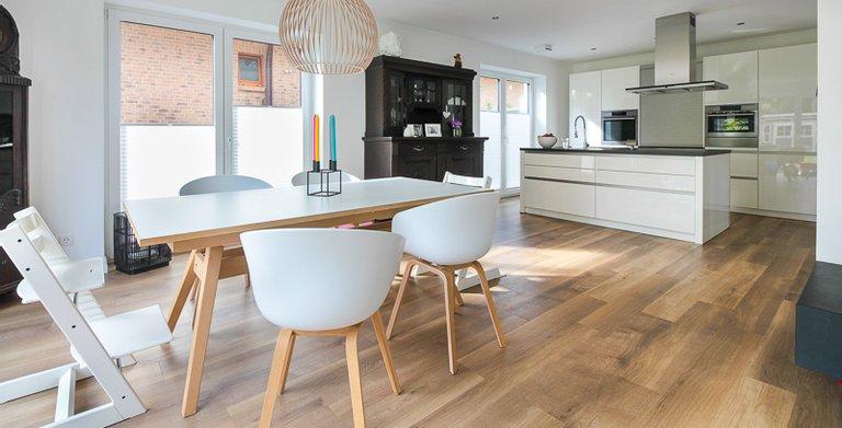 Duo Stadtvilla 160 - Küche und Essbereich