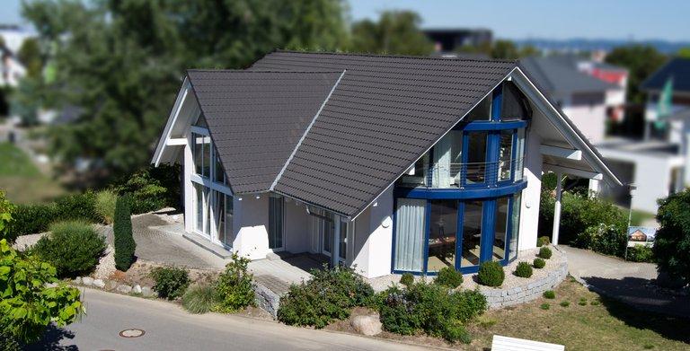 Dreigiebelhaus TRITOS Mannheim von KAMPA GmbH