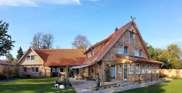 Wintergartenansicht Copyright: Fuhrberger Fachwerkhaus