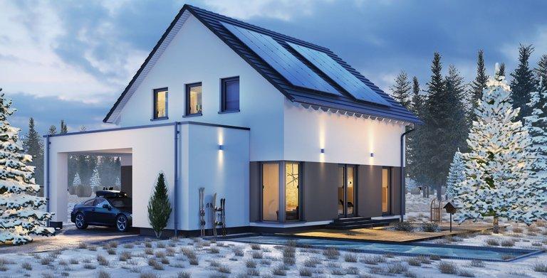 Einfamilienhaus mit Carport von OKAL Haus GmbH