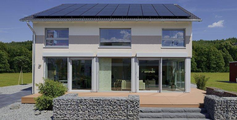 Satteldachhaus LANOS Köln-Frechen von KAMPA GmbH