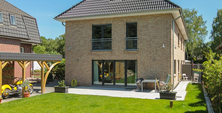 Duo Stadtvilla 160 - Terrassenseite