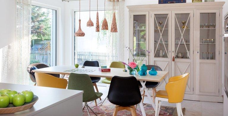 modernes Eßzimmer