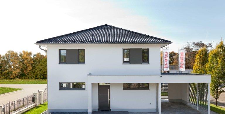 Dank der SmartHome-Technologie ist das Musterhaus Köpenick komfortabel, sicher und energieeffizient.