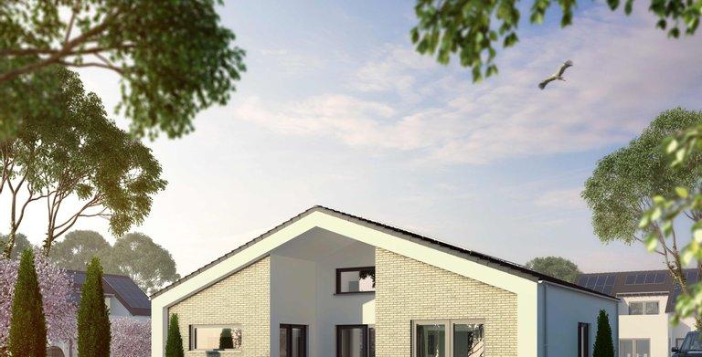 Musterhaus Stelle von OKAL Haus GmbH