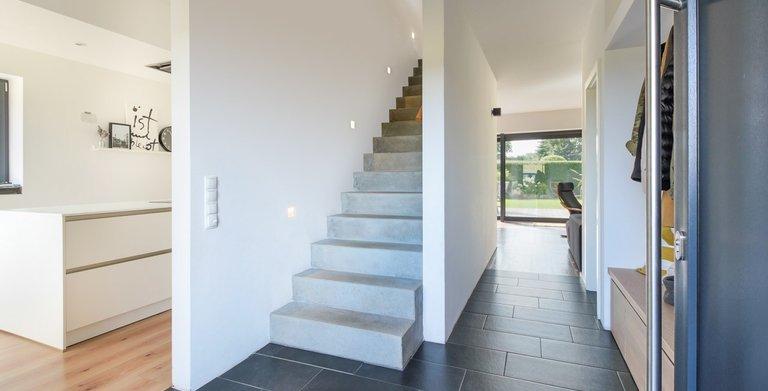 Vario-Haus 150 - Flur im Erdgeschoss
