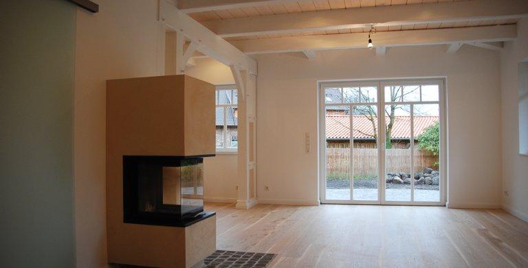 Wohnzimmer mit Kamin Copyright: