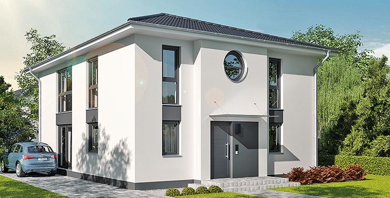 hebelHAUS EFH Stadthaus 22.2 von HebelHAUS (ein Geschäftsbereich der Xella Aircrete Systems GmbH)
