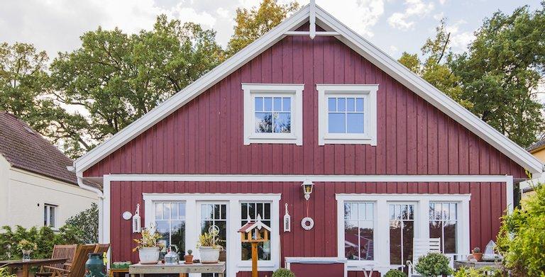 MAX-Haus Schwedenstil von MAX Holzbau Unternehmensgruppe