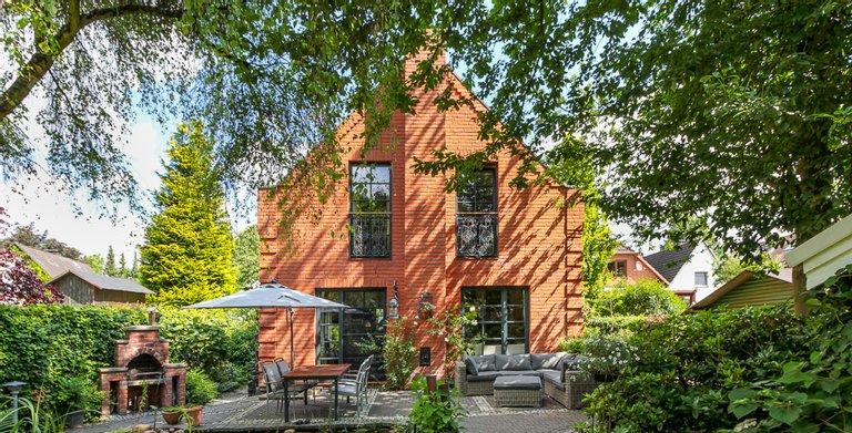 Giebelhaus 170 - Blick auf die Terrasse