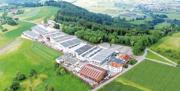 WEISS-Plusenergiewerk in Oberrot bei Schwäbisch Hall Copyright: