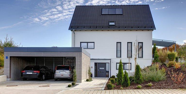 Hegger / Aussenansicht Sonnleitner Holzbauwerke