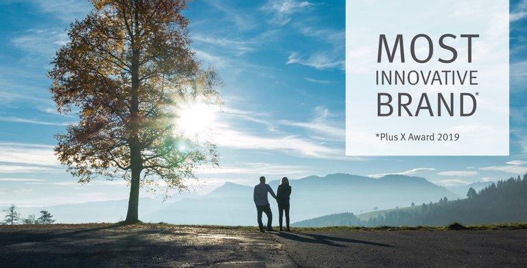 Bien-Zenker wurde in den letzten Jahren mehrfach als innovativste Hausbau-Marke ausgezeichnet – zuletzt beim Plus X Award 2019. Copyright: © Bien-Zenker GmbH 2020