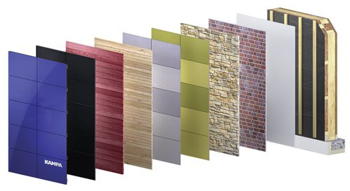 Das MultiTec Wandsystem von KAMPA lässt Heizkosten links liegen und punktet mit enormer Dämmqualität aus wohngesunden Baustoffen. Copyright: KAMPA GmbH