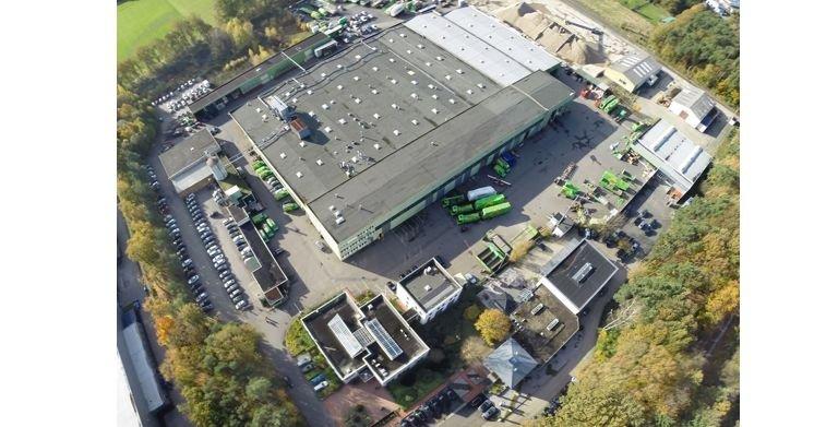 Stammwerk am Firmensitz im niedersächsischen Nordhorn. Copyright: GUSSEK HAUS