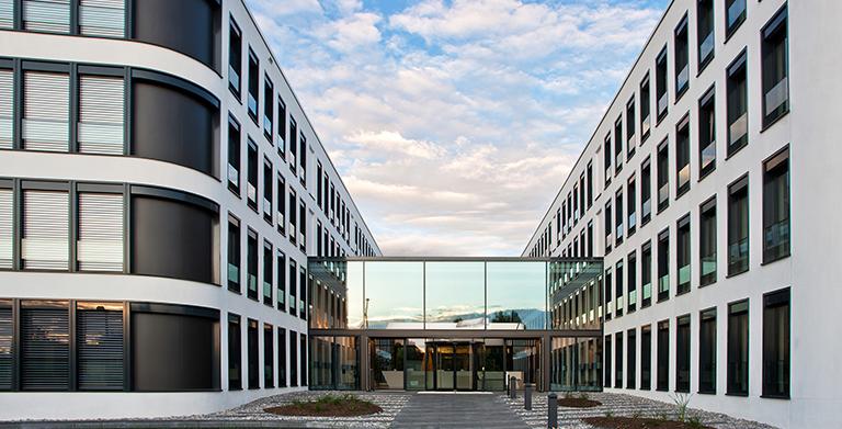 Verwaltungsgebäude der Xella Aircrete Systems GmbH