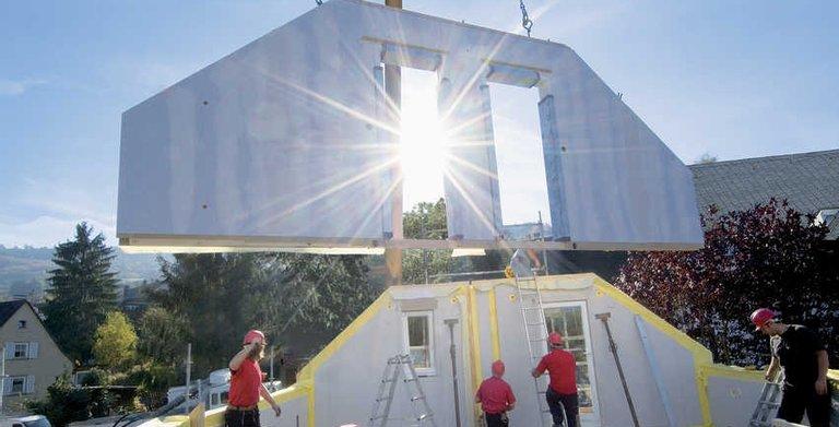 WeberHaus baut jährlich mehr als 700 Eigenheime