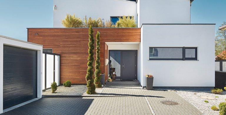 Kundenhaus Pultdach Klassik 197 Copyright: