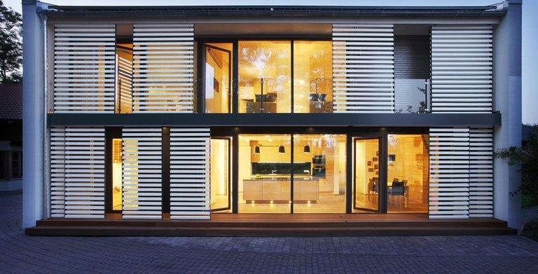 Functionality-Haus / Aussenansicht Sonnleitner Holzbauwerke