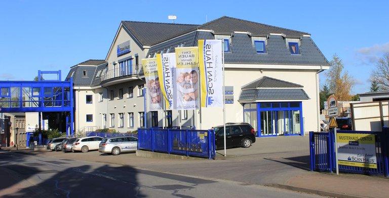 Verwaltungsgebäude ScanHaus Marlow Copyright: ScanHaus Marlow GmbH